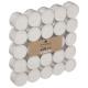 theelicht wit karton x50, wit