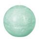 bougie boule rustic menth d10, vert clair