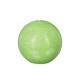 groene rustieke bal kaars d12, groen
