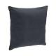 Pillow removable gf 38x38, dark gray
