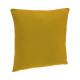 Cojín amarillo ocre cubierta 38x38, amarillo