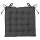 galette chair dark gray 38x38, dark gray