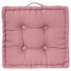 Pillow pink floor 40x40x8, pink