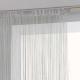 gordijn grijze draad 90x200, grijs