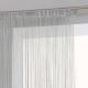 cortina de alambre gris 120x240, gris