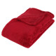 rood microfiber plaid 125x150, rood