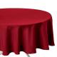 mantel manchado anti-rojo d180, rojo