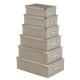 Box Metall Ecken x6 Croco GB / T, 2- fach sortiert