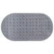 Fondo de baño de pvc 68x37cm gris, gris.