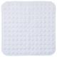 komoda prysznicowa pcv 54x54cm biała, biała