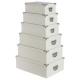 doos hoeken ivoor krokodil mtlx6, wit