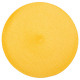 Juego de mesa trenzado redondo amarillo, amarillo
