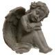 sitzender Engel, 4- fach sortiert , verschiedene F