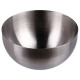 forma actual cúpula x4 acero inoxidable, plata