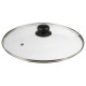 glazen deksel diameter 28cm, transparant