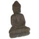 estatua de piedra de Buda mm, marrón