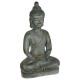 statue bouddha gm pierre, gris