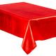 asztalterítő szatén vörös 140x240