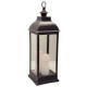 lantern led antique black h71, black