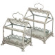 greenhouse garden h28 + h37 s / 2, white