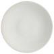 Borden platte rijst 27cm, wit
