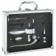 briefcase sommelier 6pcs aluminum, without color