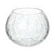 photophore verre craq ronde h10, transparent