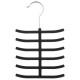 felt hanger ties black, black