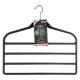 vilten hanger 4 broek x2 zwart, zwart