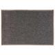 effen vloerkleed 40x60 grijs porselein, grijs