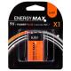 baterías de energía más 6lr61 x1, naranja