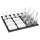 set aperitif carre 25p