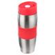 mug iso dbl paroi rouge 36cl, gris moyen