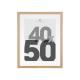 Marco de fotos natural 40x50, beige