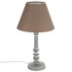 taupe houten lamp h36, taupe
