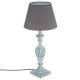 patina houten lamp grijs h56, grijs