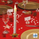 candle led candle glitter blan