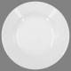 assiette creuse ronde 20cm, blanc