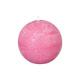 bola de vela rústica fucsia d8, rosa
