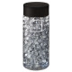 gel crytsal vase gris 500ml, gris