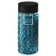 Cryzal gel blue vase 500ml, dark blue