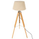 floor lamp trep runo bamb h146, ivory