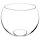transparent ball vase d30xh23.5, transparent