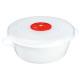 cocotte micro-onde 1l, blanc