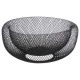 corbeille mesh 27cm, 4-fois assorti, gris