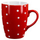 round mug red peas 32cl