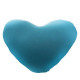 coussin coeur microbilles, 6-fois assorti, couleur