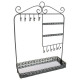 mirror metal jewelry holder, 2- times assorted , c