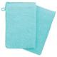 handschoen x2 450 gsm aqua 15x21, blauw