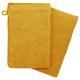 handschoen x2 450 gsm oker 15x21, geel